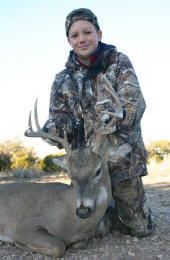 Texas Hill Country whitetail deer